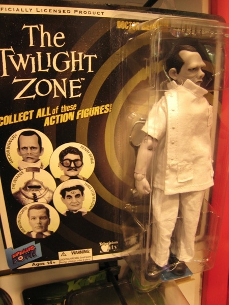 Twilight Zone Action Figure