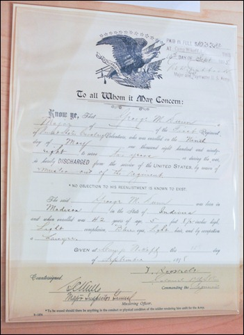 rough rider discharge papers