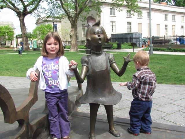 Dr. Seuss Gardens Springfield, MA.
