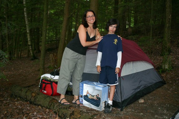 camping with kids  Albany Kid Family Travel