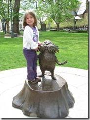 The Lorax - Dr. Seuss Memorial Garden