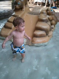 Toddler Waterslide, Great Escape White Water Bay Indoor Water Park