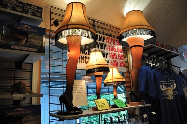 Christmas Story Leg Lamps Come In All Sizes