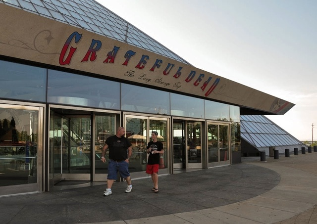 Grateful Dead - Rock and Roll Hall of Fame - Cleveland, OH