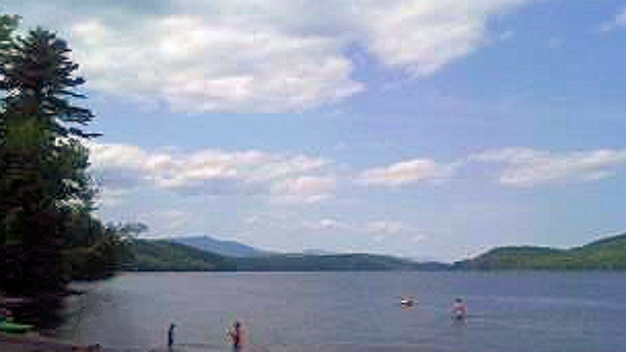 Scaroon Manor Campground Beach, Schroon Lake, NY