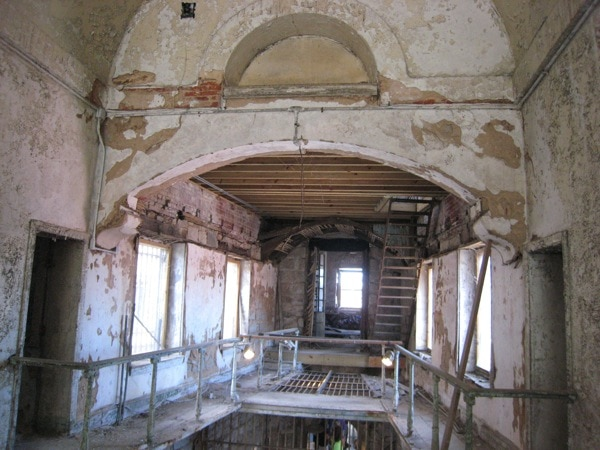 Eastern State Penitentiary Philadelphia HIstoric Site Ongoing Restoration.JPG