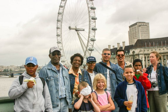 Family in London