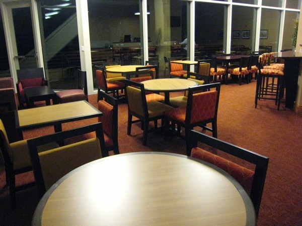 Homewood Suites University City Philadelphia Breakfast Room.JPG
