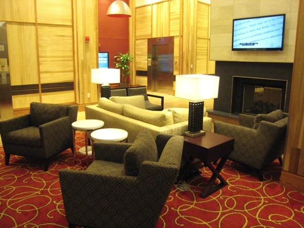 Homewood Suites University City Philadelphia Lobby.JPG