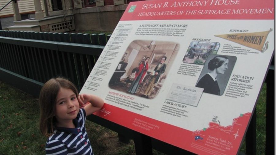 A Girl's Guide to the Women's Suffrage Movement: Visiting the Susan B. Anthony House