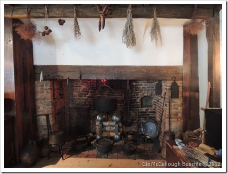 Inside the Kitchen, Witch House, Salem Massachusetts