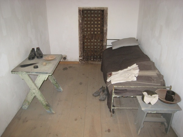 Philadelphia Historic Site Eastern State Penitentiary Restored Original Inmate Cell Interior.JPG