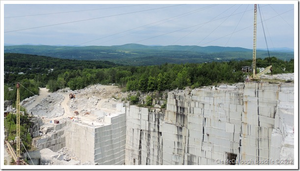 Granite Cliff - Rock of Ages Granite Quarry, Vermont