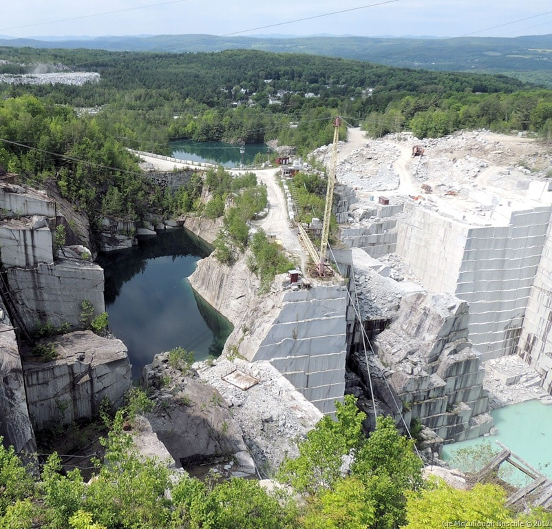 Rock of Ages Granite Quarry, Barre Vermont