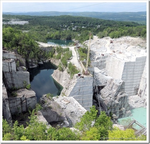 Deep in the Mountain - Rock of Ages Granite Quarry, Vermont