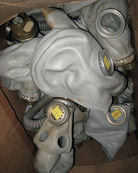 Russian GP-50 Gas Masks I Goldberg Army Navy Philly.jpg