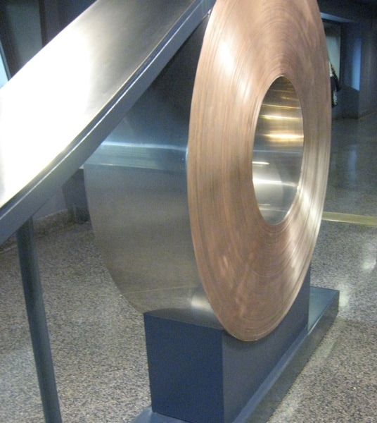 Metal Blank Coil for Coin Stamping at US Mint in Philadelphia PA