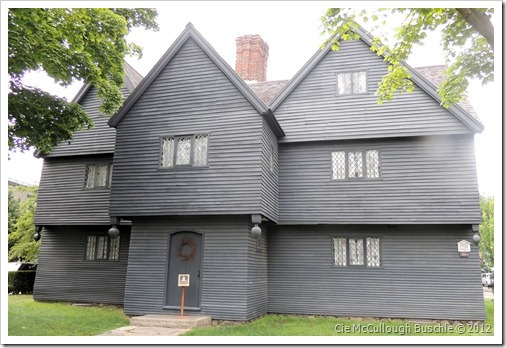 The Witch House, Salem Massachusetts