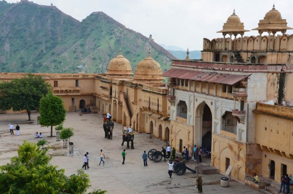 Amber Fort Gate - Jaipur, India