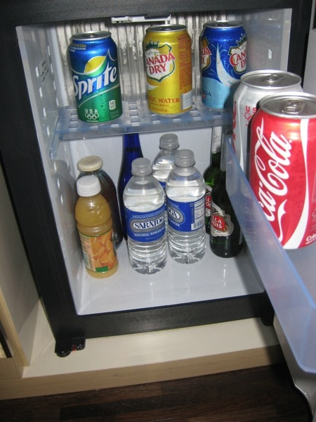 Andaz Wall Street Mini Fridge Loaded.jpg