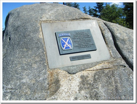 10th Mountain Division monument, Little Whiteface Cloudsplitter Gondola, Lake Placid