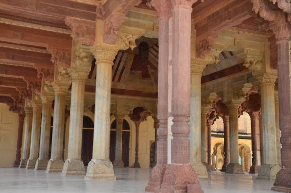 Diwan-i-Am or the Public Audience Hall - Amber Fort - Jaipur, India