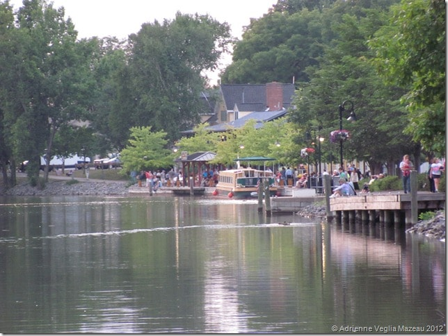 Shoen Place along the Erie Canal outside of Rochester, NY