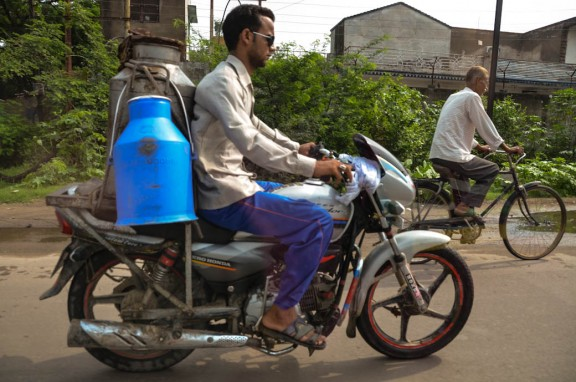 Indian milkman