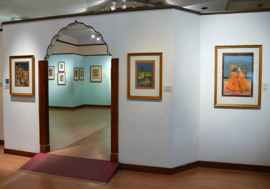National Museum Delhi - Mughal art wing