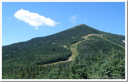 Paron's Run sans snow, Whiteface Cloudsplitter Gondola, Lake Placid