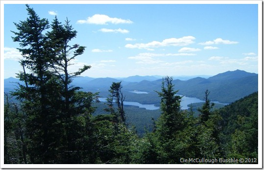 View of Lake Placid, Whiteface Cloudsplitter Gondola, Lake Placid