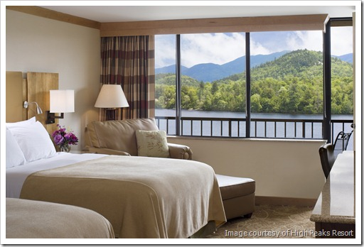 Courtyard room, High Peaks Resort, Lake Placid