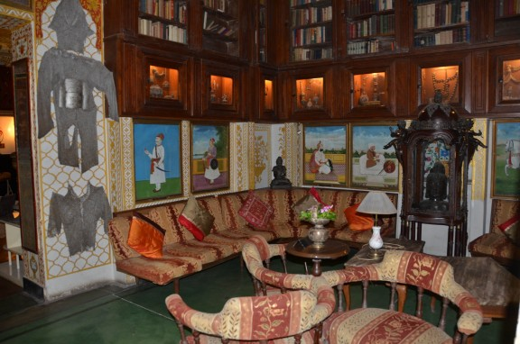 Hotel Bissau Palace - Library