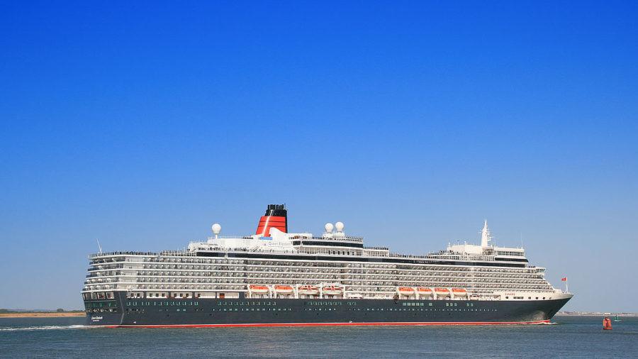 Cunard Queen Elizabeth liner