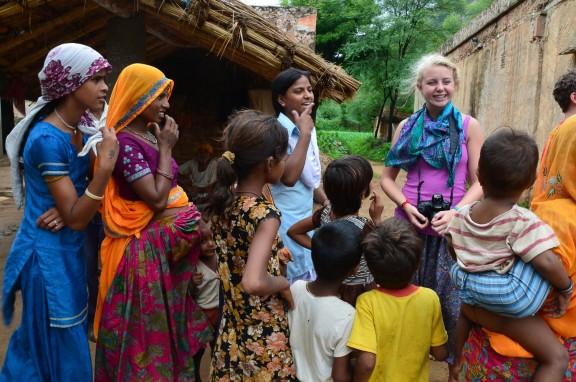 Girl with Braces - Jaipur, India