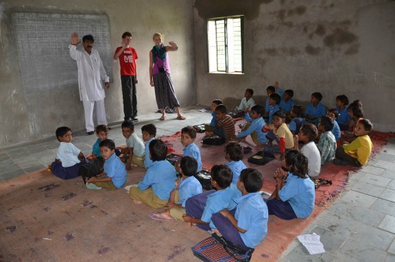 Village School - Jaipur, India
