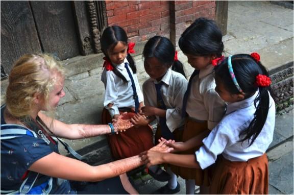 cultural exchange - Kathmandu, Nepal
