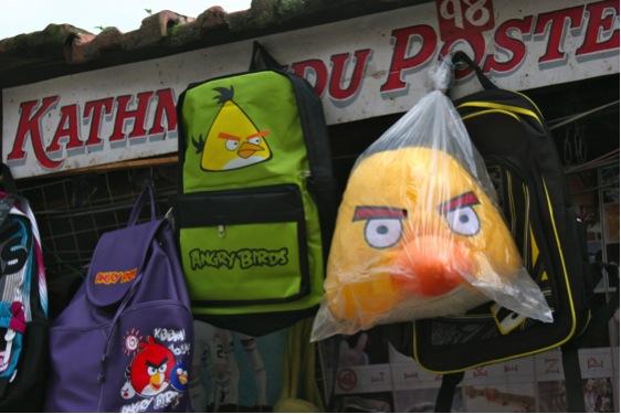 Angry Birds in Kathmandu, Nepal