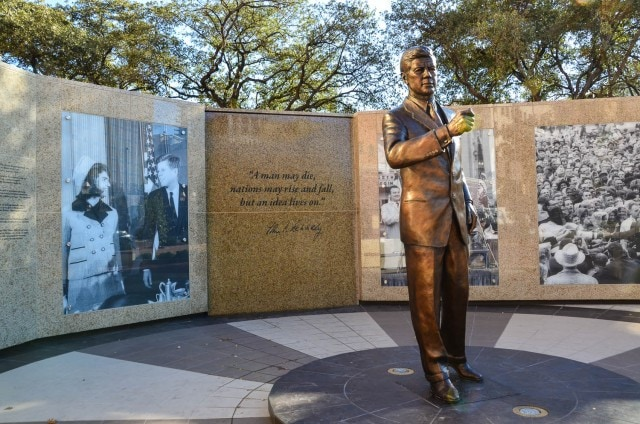 John F. Kennedy Tribute - Fort Worth
