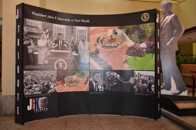 JFK Tribute - Hilton Fort Worth