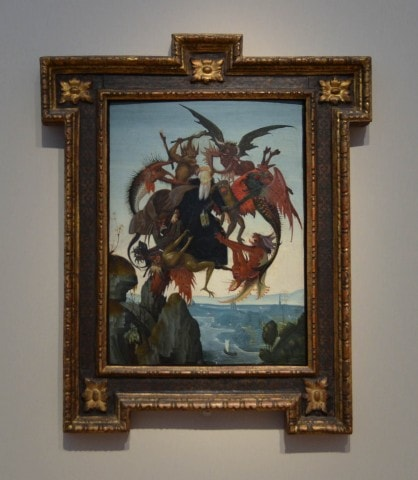 Kimbell Museum - Michaelangelo's The Torment of Saint Anthony