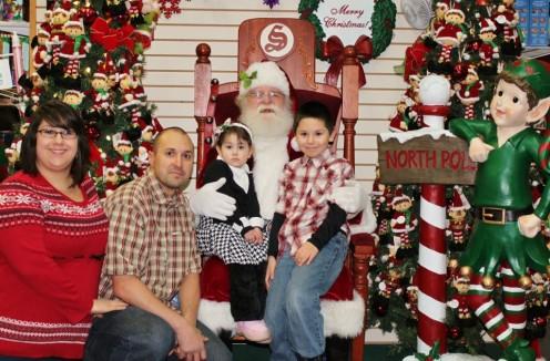 Meet Santa at the North Pole