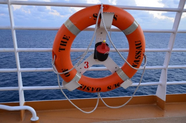 Life preserver - Oasis of the Seas - Royal Caribbean