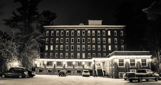 The Pines Inn exterior | Lake Placid hotel