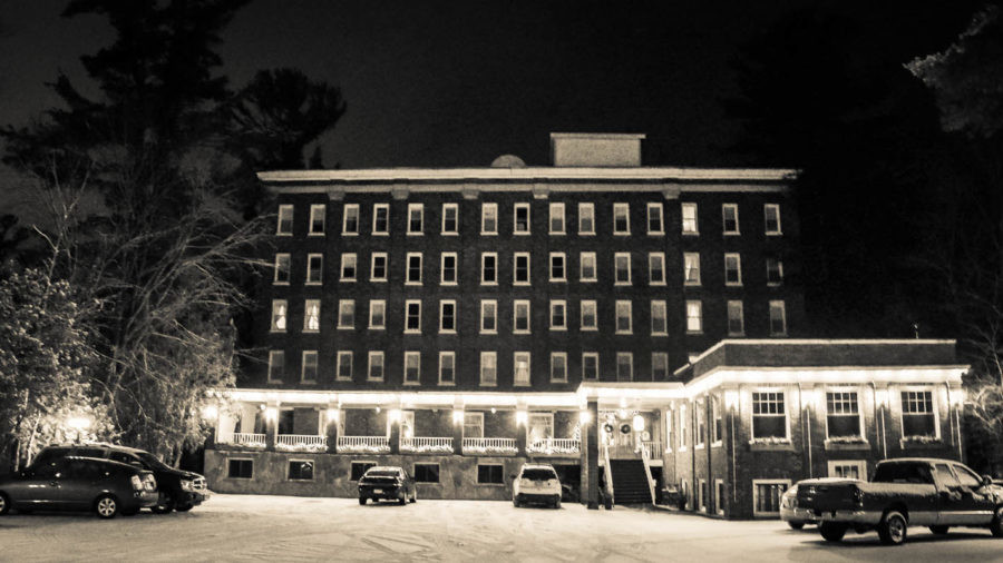 The Pines Inn exterior   Lake Placid hotel
