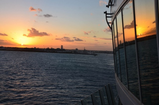 Sunset - Oasis of the Seas - Royal Caribbean