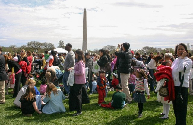White House Egg Roll Lines - 2009 - Washington, D.C.