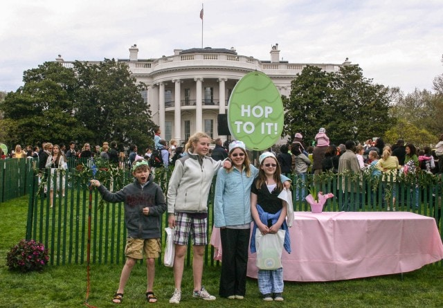 white house egg roll photo