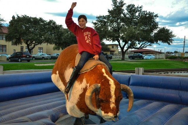 mechanical bull - Fort Worth Stockyards - Fort Worth, TX