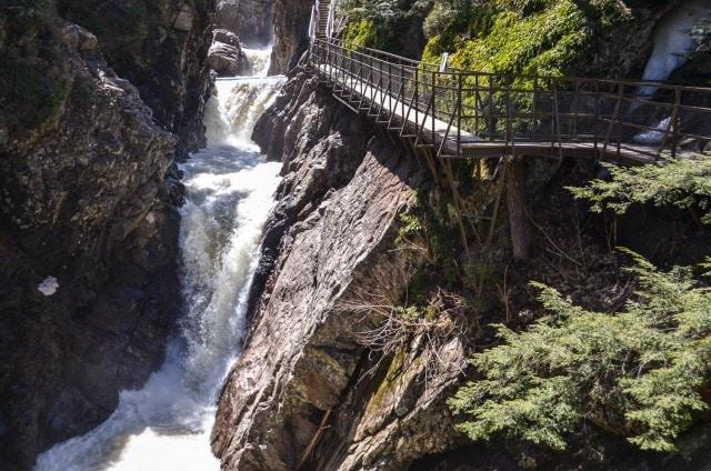 High Falls Gorge bridge